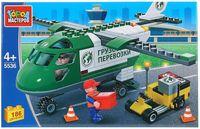 """Конструктор """"Транспорт. Транспортный самолёт"""" (186 деталей)"""