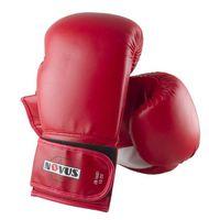 Перчатки боксёрские LTB-16301 (S/M; красные; 12 унций)