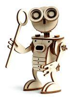 """Сборная деревянная модель """"Робот Сан"""""""