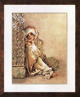 "Вышивка крестом ""Арабская женщина"" (340х440 мм)"