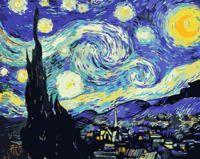 """Картина по номерам """"Ван Гог. Звездная ночь"""" (400х500 мм)"""
