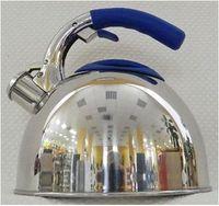 Чайник металлический со свистком (2,7 л; арт. GS-0431AHY-Blue)