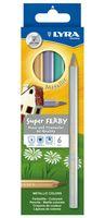 "Цветные карандаши ""SUPERFERBY METALLIC"" (6 цветов)"