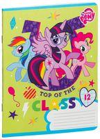 """Тетрадь в крупную клетку """"My Little Pony"""" (12 листов; в ассортименте)"""