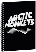 "Блокнот в клетку ""Arctic Monkeys"" A5 (арт. 066)"