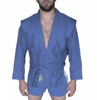 Куртка для самбо AX5 (р. 48; синяя; без подкладки)