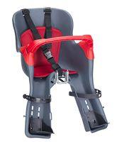 Велокресло детское переднее KIKI TS (тёмно-серое)
