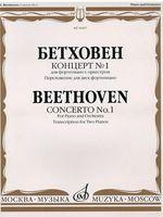 Бетховен. Концерт №1 для фортепиано с оркестром. Переложение для двух фортепиано