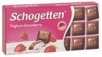 """Шоколад молочный """"Schogetten. Клубничный йогурт"""" (100 г)"""