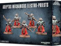 Warhammer 40.000. Adeptus Mechanicus. Electro-Priests (59-15)