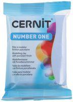 """Глина полимерная """"CERNIT Number One"""" (серо-голубой; 56 г)"""