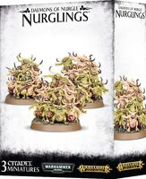 Warhammer Age of Sigmar. Daemons of Nurgle. Nurglings (97-18)