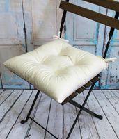 """Подушка на стул """"Velours"""" (42х42 см; молочная)"""