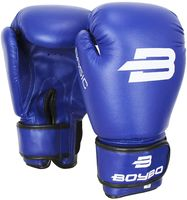 """Перчатки боксерские """"Basic"""" (синие; 12 унций)"""