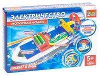 """Электронный конструктор """"Моторная лодка"""""""