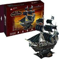 """Сборная модель из картона """"Корабль Месть королевы Анны"""""""
