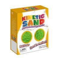 """Кинетический песок """"Kinetic Sand. Зеленый"""" (2,27 кг)"""