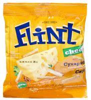 """Сухарики пшенично-ржаные """"Flint"""" (35 г; сыр)"""