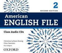 American English File. Level 2. Class Audio CDs