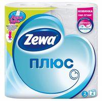 """Туалетная бумага """"Zewa Плюс"""" (4 рулона)"""
