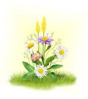 """Набор для вышивания """"Ромашки с цветочками"""""""