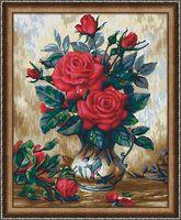 """Картина по номерам """"Прекрасные розы"""" (400х500 мм)"""