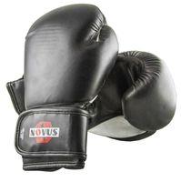 Перчатки боксёрские LTB-16301 (S/M; чёрные; 6 унций)