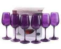 """Бокал для вина стеклянный """"Viola"""" (6 шт.; 250 мл; арт. 40729/D4789/250)"""