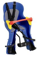 Велокресло детское переднее KIKI TS (синие)