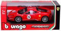 "Модель машины ""Bburago. Race. Ferrari 458 Challenge"" (масштаб: 1/24)"