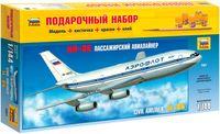 """Подарочный набор """"Пассажирский лайнер Ил-86"""" (масштаб: 1/144)"""