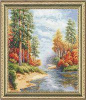 """Вышивка крестом """"Осень"""" (310х260 мм)"""