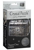 "Пазл-головоломка ""Crystal Puzzle. Сундук пиратский"" (52 элемента)"