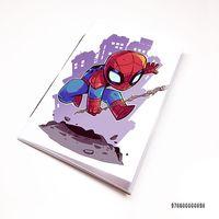 "Блокнот белый ""Человек-паук"" А7 (898)"