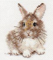 "Вышивка крестом ""Крольчонок"" (90х50 мм)"