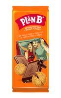 """Шоколад молочный """"Plan B. Овсяное печенье"""" (90 г)"""