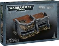 """Ландшафт """"Warhammer 40.000. Wall of Martyrs - Imperial Bunker"""" (64-55)"""