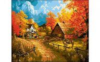 """Картина по номерам """"Сельская осень"""" (400x500 мм)"""