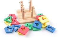 """Деревянная игрушка """"Логический квадрат"""" (малый)"""