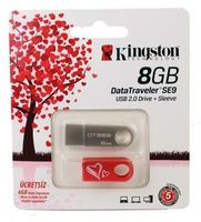 USB Flash Drive 8Gb Kingston DT SE9 Love series (+ sleeve)