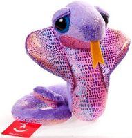 """Мягкая игрушка """"Змея фиолетовая"""" (40 см)"""