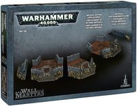 "Ландшафт ""Warhammer 40.000. Wall of Martyrs - Imperial Defence Emplacement"" (64-54)"