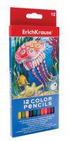 Цветные карандаши Erich Krause (12 цветов)