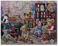 """Алмазная вышивка-мозаика """"Мишки Тедди"""" (400x500 мм)"""