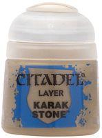 """Краска акриловая """"Citadel Layer"""" (karak stone; 12 мл)"""