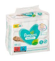"""Влажные салфетки детские """"Pampers Sensitive"""" (208 шт.)"""
