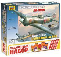 """Сборная модель """"Самолет Ла-5ФН"""" (масштаб: 1/48; подарочный набор)"""
