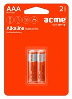 Батарея гальваническая щелочная LR03 AAA (2 шт)