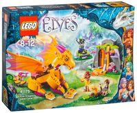 """LEGO Elves """"Лавовая пещера дракона огня"""""""