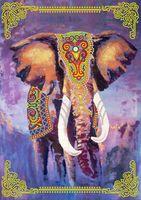 """Вышивка бисером """"Индийский слон"""""""